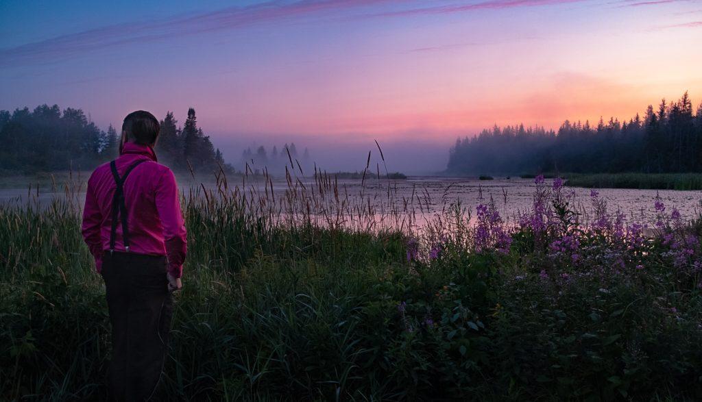 brouillard levé soleil